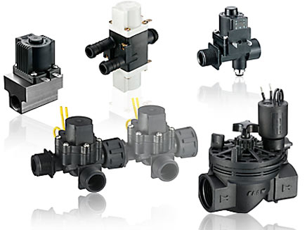 valves product range
